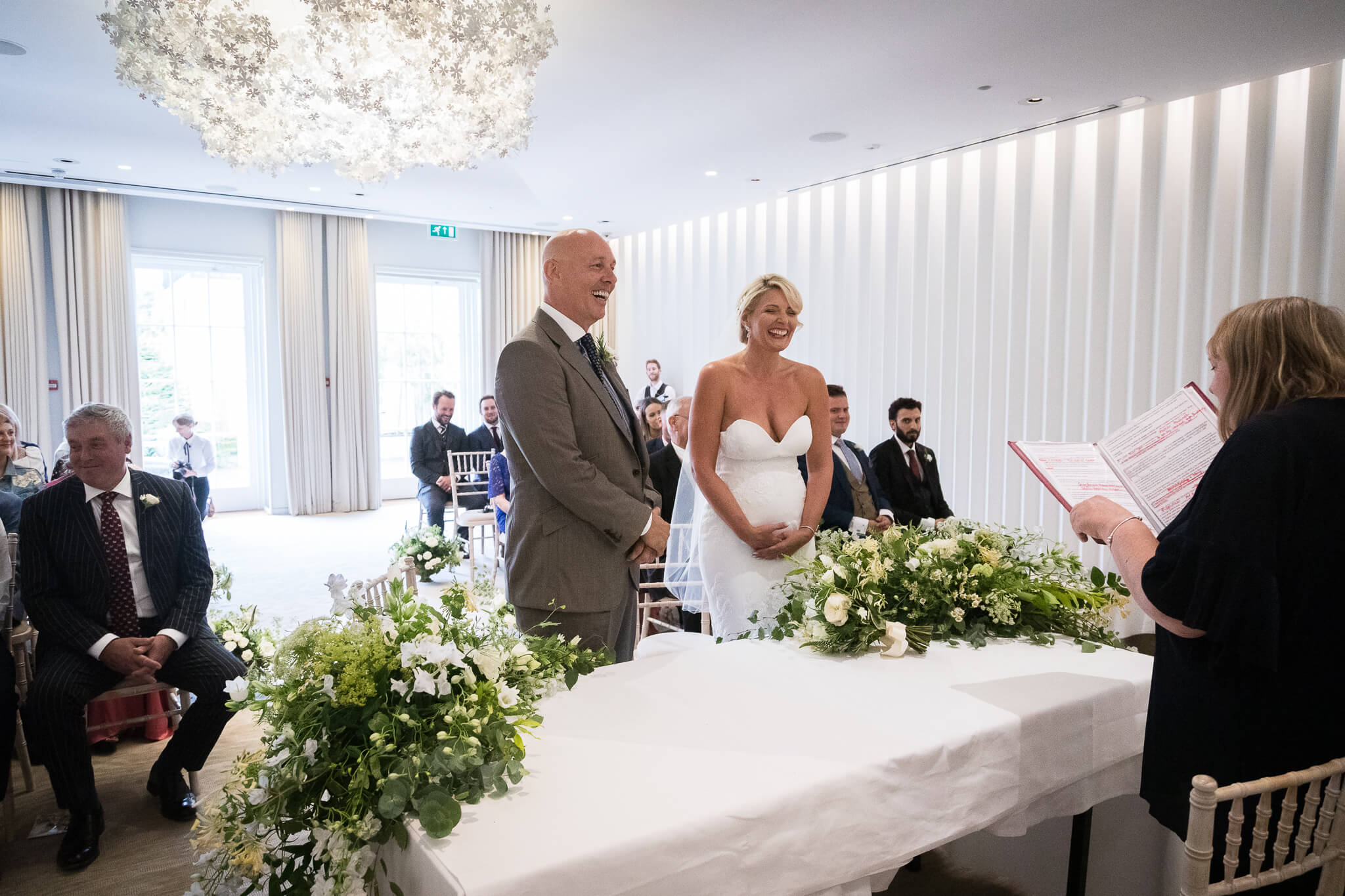 coworth park wedding ceremony