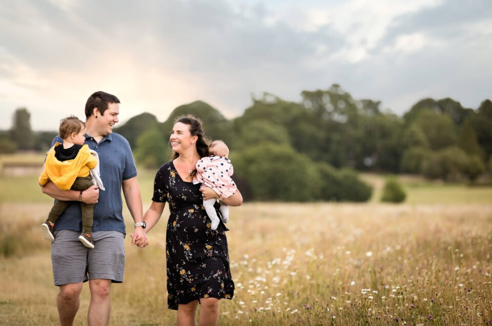 The Bailey Family - Portrait Shoot in Warfield, Berkshire