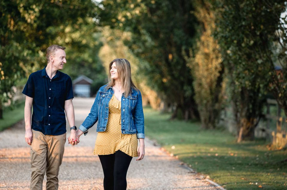 Warren + Carmel – Pre-wedding shoot at Lillibrooke Manor in Berkshire