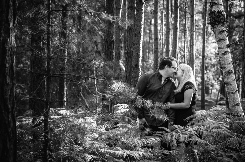 Brandan + Emma – Pre-wedding shoot in Berkshire