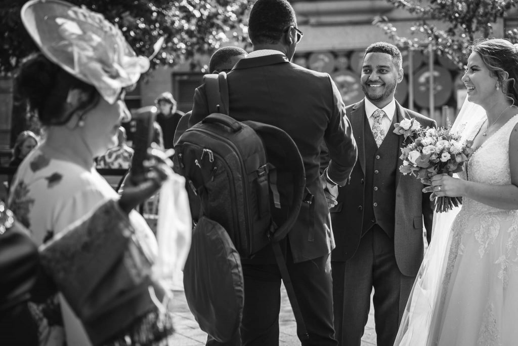 wedding photographer in reading