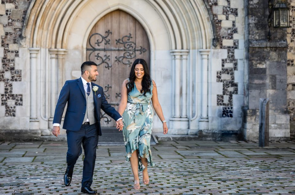 Pardeep + Kaajal – Micro Wedding at Winchester Registry Office, Hampshire