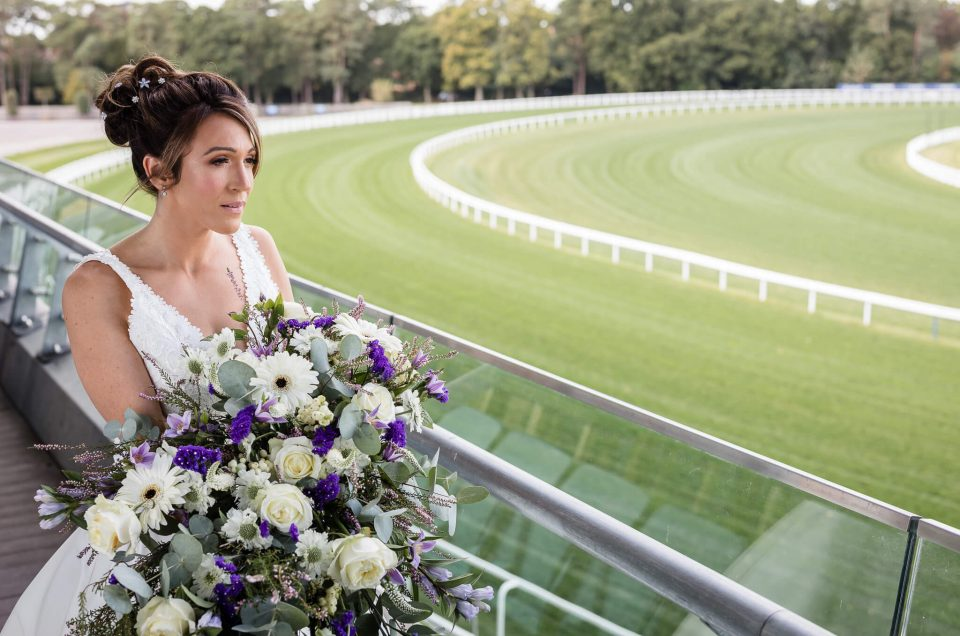 Ascot Racecourse Styled Wedding Shoot in Berkshire