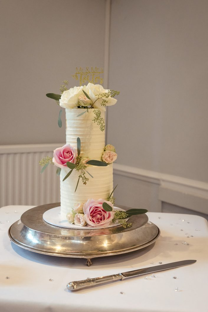 wedding cake warbrook house