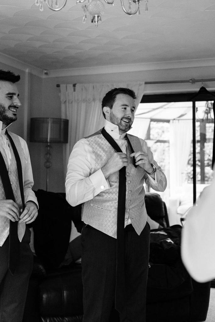 groom preparations