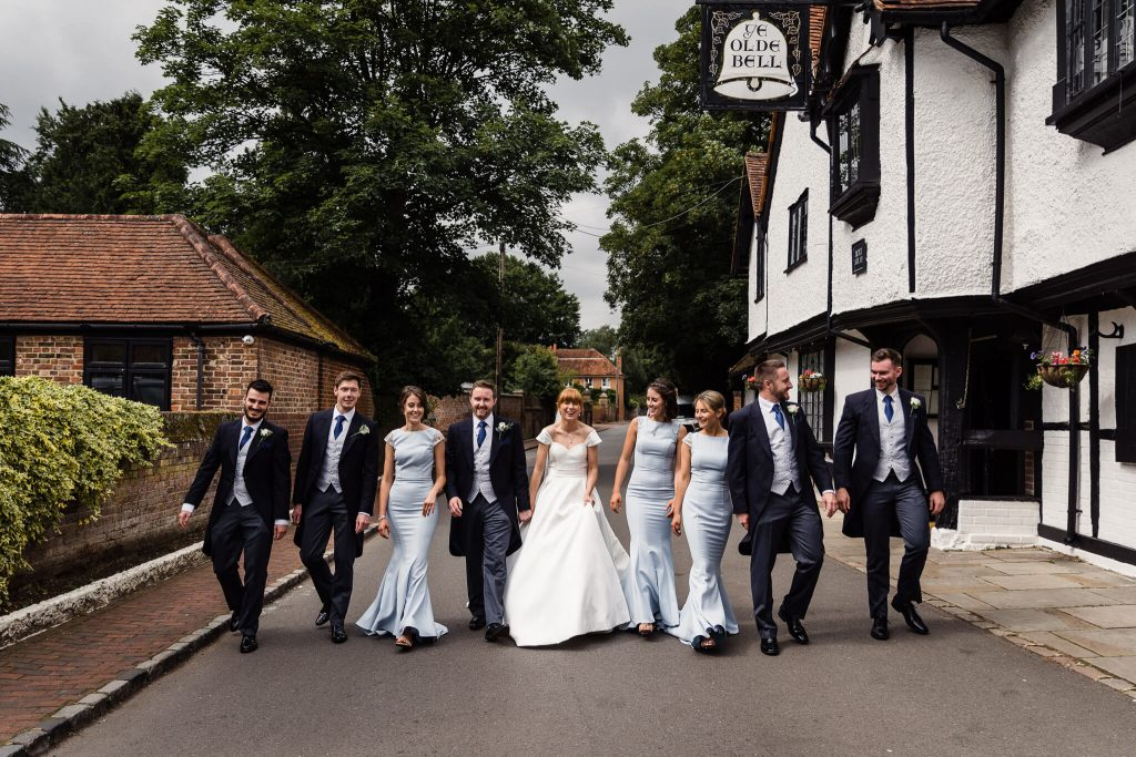 olde bell in hurley wedding photography