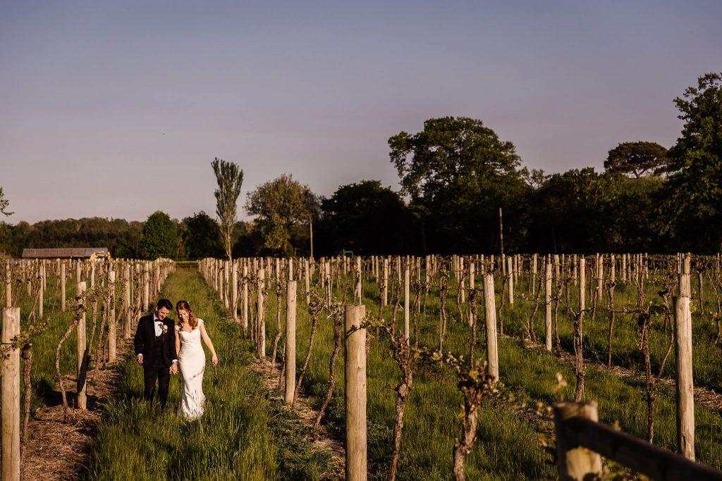 vineyard wedding stanlake park berkshire