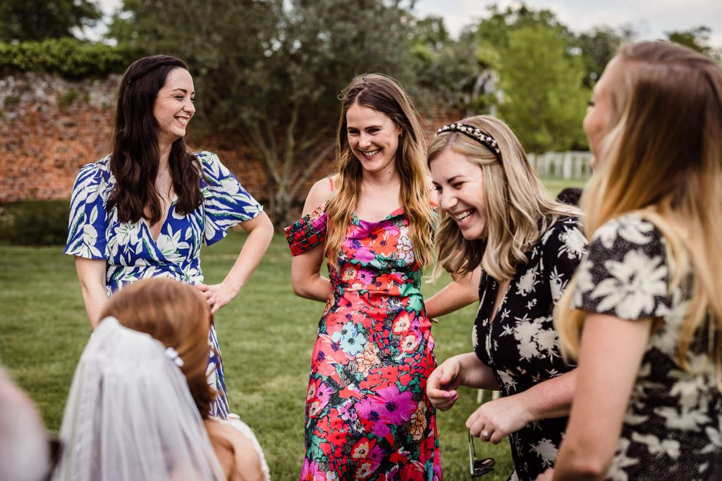 wedding guest natural moments